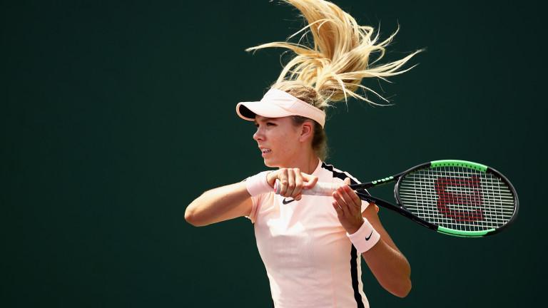 Аманда Анисимова се отказа, Гарбине Мугуруса на 1/16-финал без игра