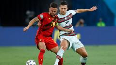 Капитанът Еден Азар готов да играе контузен за Белгия