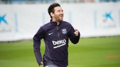 Меси тренира индивидуално, иска да е напълно готов за мача Барса - Бетис