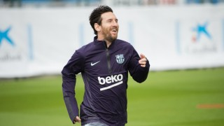 Меси и Дембеле се включиха в тренировката на Барселона