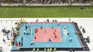 Шампионът във волейболната Световна лига ще бъде излъчен на футболен стадион