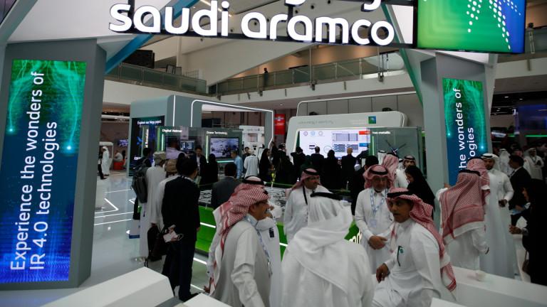 Акциите на Saudi Aramco отвориха с 10% над IPO цената