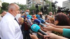 Радев е сценарист, знае, питайте него, отсече Борисов в Пловдив