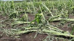 Втора градушка падна в села край Нова Загора