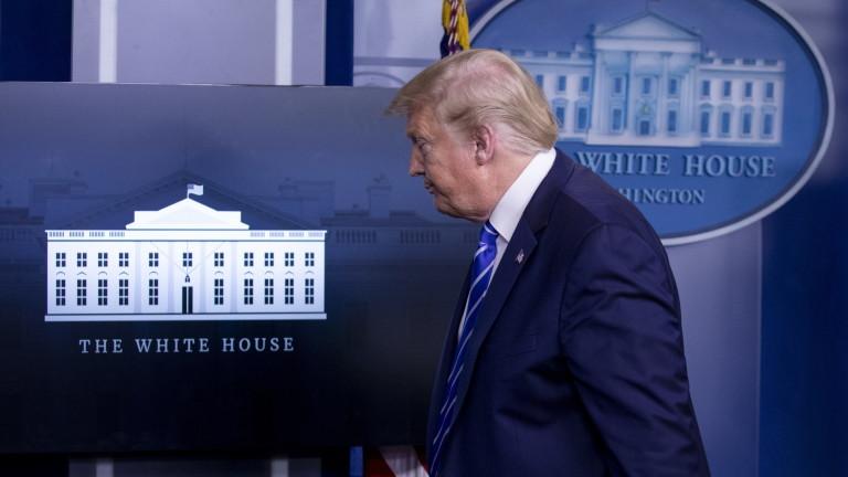Президентът на САЩ Доналд Тръмп съобщи, че правителството може да