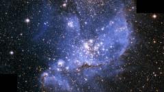 """""""Инкубатор"""" за звезди в мъглявината NGC 346, заснет от Хъбъл"""