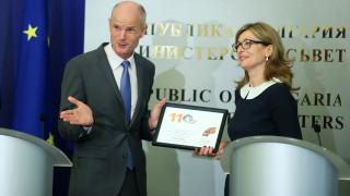 Холандският външен министър подари лалета и заобиколи въпроса за Шенген