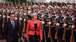 Тереза Мей задълбочава отношенията с Китай
