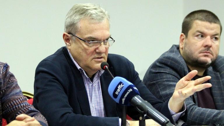 Председателят на АБВ Румен Петков коментира в Пловдив темата за