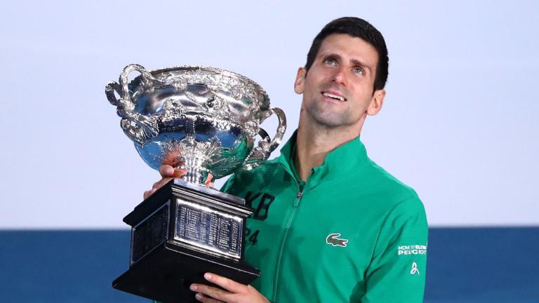 Да играеш тенис на улицата с Новак Джокович