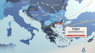 Гръцкият проект за газ в Александруполис е включен във финансирането на ЕС