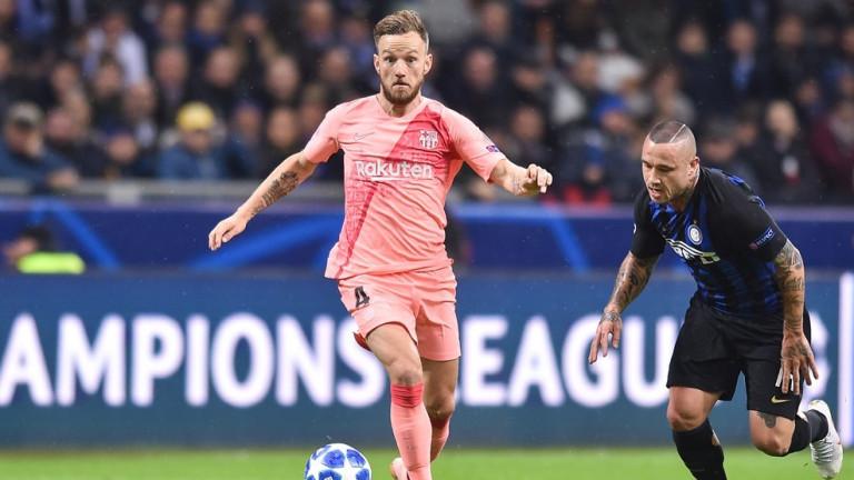 Един от основните играи на Барселона - Иван Ракитич подобри