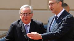 Юнкер иска Хърватия в Шенген и в чакалнята за еврозоната