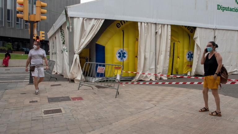 Каталуния строи 5 COVID-болници в рекордно кратък срок