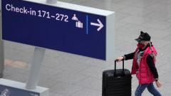 Един човек е ранен при нападение с нож на летище Дюселдорф
