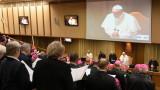 Папа Франциск приветства българите преди посещението си