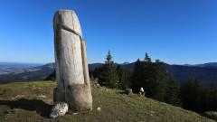 Планински паметник на изкуството изчезна от Баварските планини