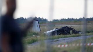 Девет загинали при самолетна катастрофа в Швеция