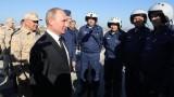 Първите руски войници в Сирия се завърнаха в страната си