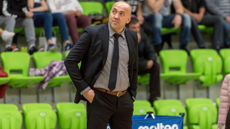 Треньорът на Балкан (Ботевград) - Небойша Видич коментира загубата от