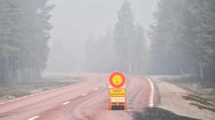 11 големи горски пожара бошуват в Арктическия кръг