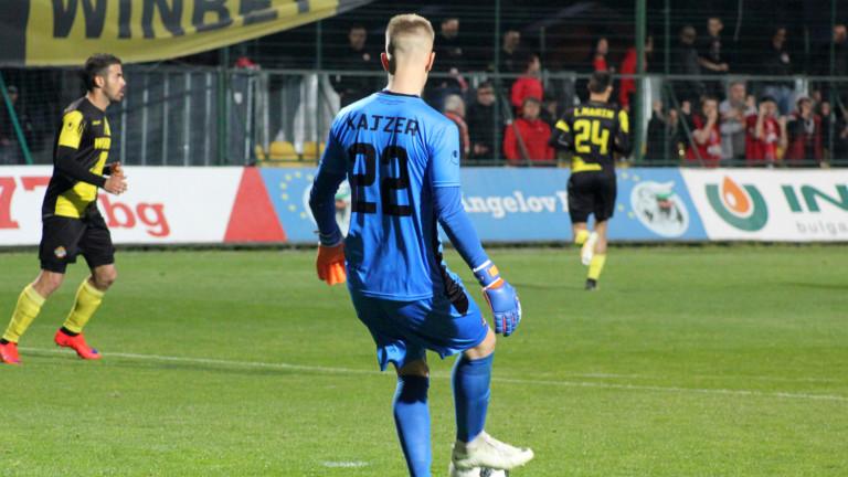 Даниел Кайзер може да се смята за футболист на Левски