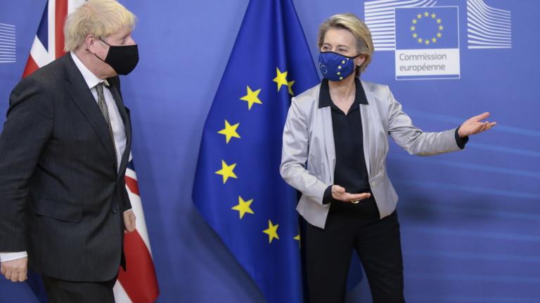 Урсула фон дер Лайен пое руля на преговорите с Великобритания
