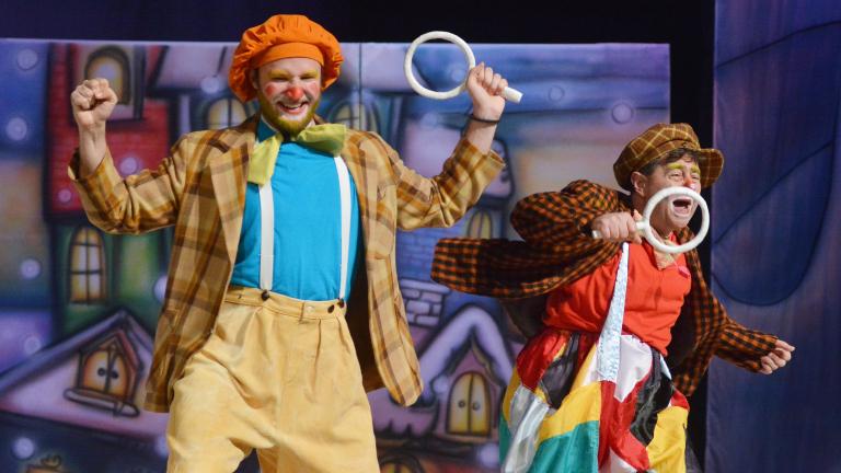 Работниците от благоевградският Драматичен театър