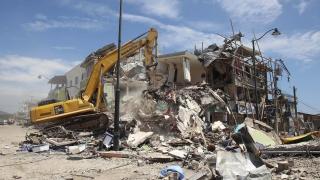 48 души остават в неизвестност след земетресението в Еквадор