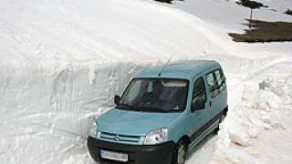 Асеновград блокиран заради снега
