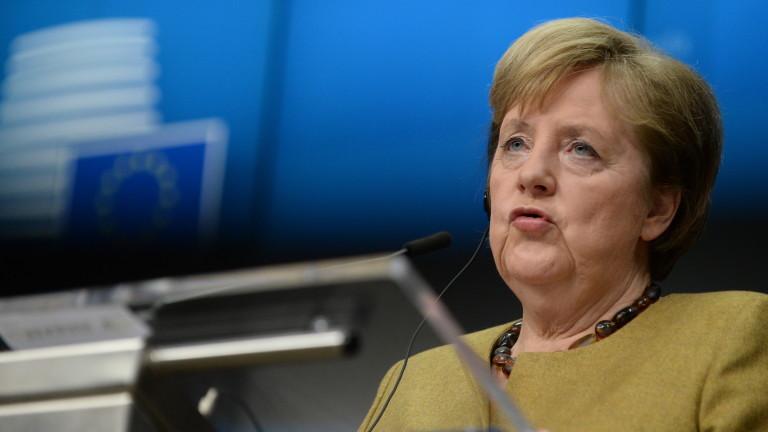 Евролидерите обсъждат оръжейния износ за Турция с НАТО и САЩ, обяви Меркел