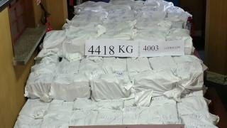Четирима задържани след откриването на кокаин за над $1 млрд. в Уругвай