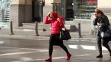 Половин България в жълто заради очаквани силен вятър,валежи и поледици