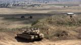 Сирия нанася десетки удари по южните Голански възвишения