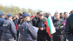 Недоволни от кмета на Септември блокират пътя Пазарджик-Велинград