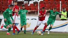 ЦСКА - Ботев (Враца) 0:0, по едно опасно положение пред двете врати