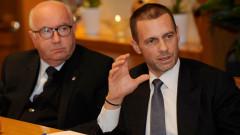 Чеферин: Докато съм президент на УЕФА, Суперлига няма да има!