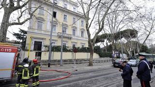 Пакет-бомба за гръцкото посолство в Рим