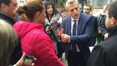 Москов се объркал и решил, че протестиращи бесепари го подкрепят