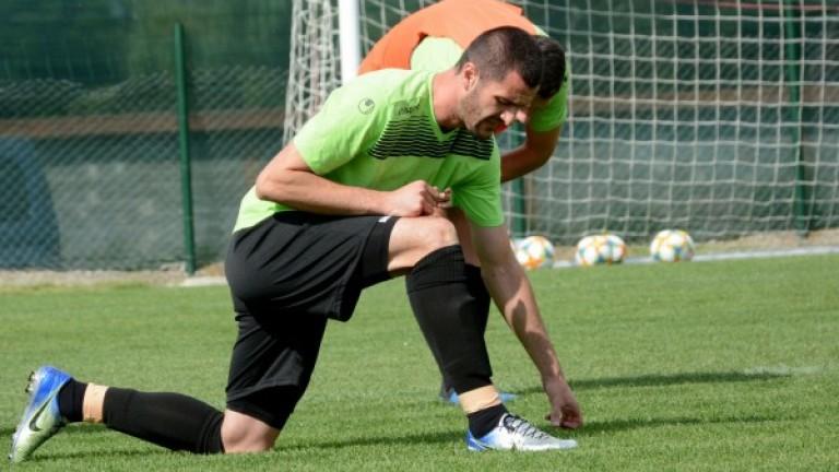 Исмаил Иса тренира за първи път с Черно море