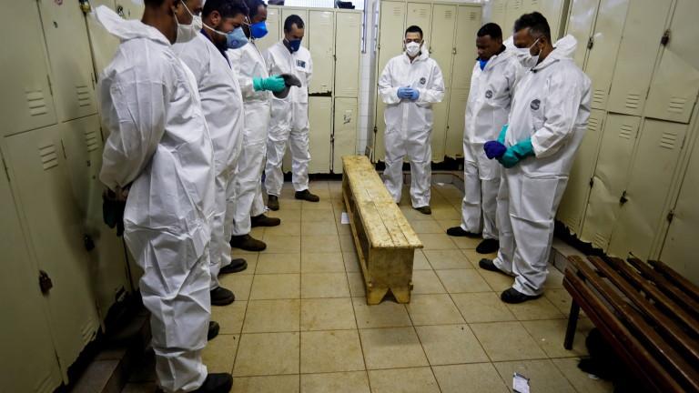 Бразилия регистрира 965 нови смъртни случаи от коронавирус в събота,