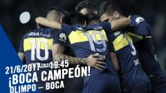Бока Хуниорс е шампион на Аржентина за 32-ри път!