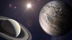 За първи път от 1623 г. Юпитер и Сатурн са най-близо една до друга