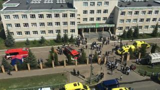 8 загинали при стрелба в училище в Русия