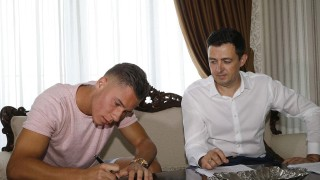 Новият халф на Левски с първа тренировка (ВИДЕО)