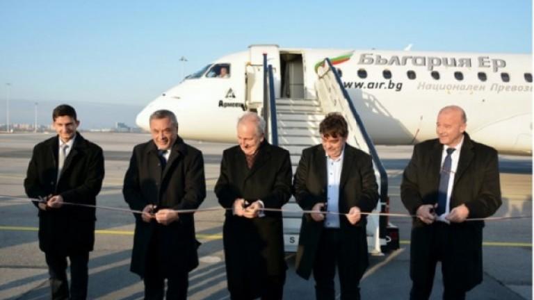 Откриха директната въздушна линия София-Одеса