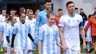 Васил Божиков с цял мач при загуба на Слован (Братислава) от Копенхаген