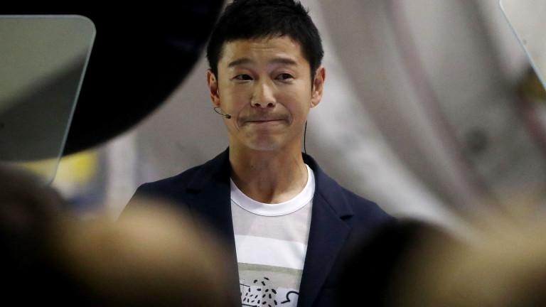 Японски милиардер раздава милиони в Twitter