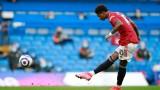 Манчестър Юнайтед не може да бележи срещу най-силните отбори