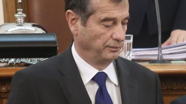 НС прекрати правомощията на Илко Желязков, санкциониран по закона Магнитски